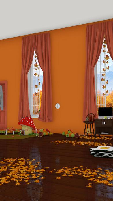 脱出ゲーム Autumn 紅葉とリスの家のスクリーンショット_2