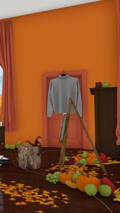 脱出ゲーム Autumn 紅葉とリスの家のスクリーンショット_3