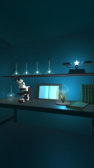 脱出ゲーム 星の研究所 -星が輝く不思議な研究所からの脱出-のスクリーンショット_2