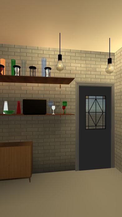 脱出ゲーム ガラス工房 -綺麗なガラスが並ぶ工房からの脱出-のスクリーンショット_3