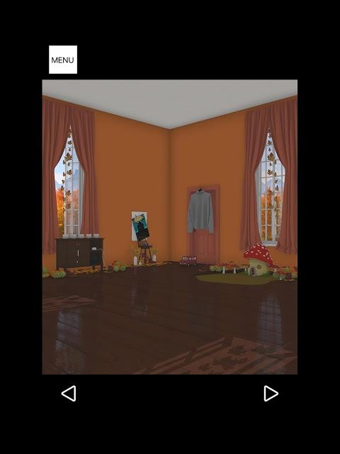 脱出ゲーム Autumn 紅葉とキノコとリスの家のスクリーンショット_5