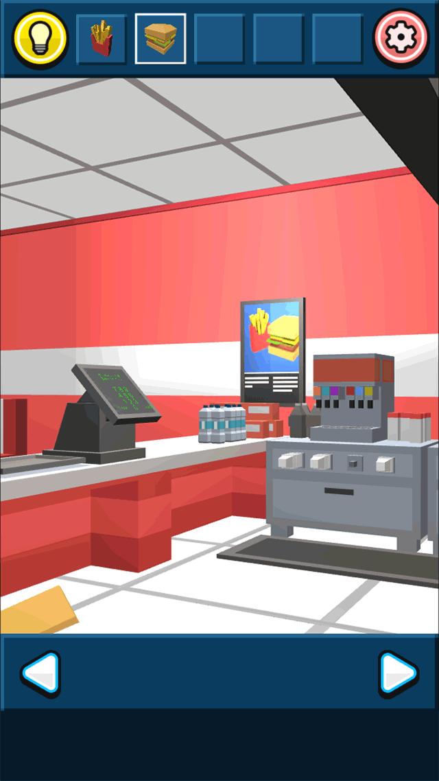 ハンバーガーショップからの脱出のスクリーンショット_3
