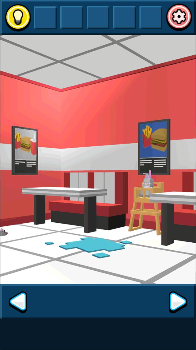 ハンバーガーショップからの脱出のスクリーンショット_2