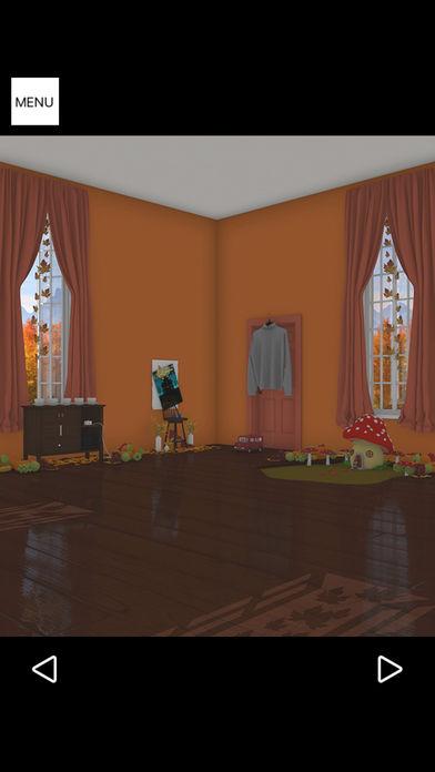脱出ゲーム Autumn 紅葉とリスの家のスクリーンショット_4