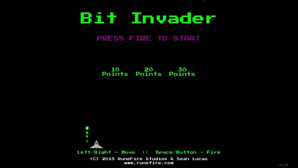 bit invaderのスクリーンショット_4