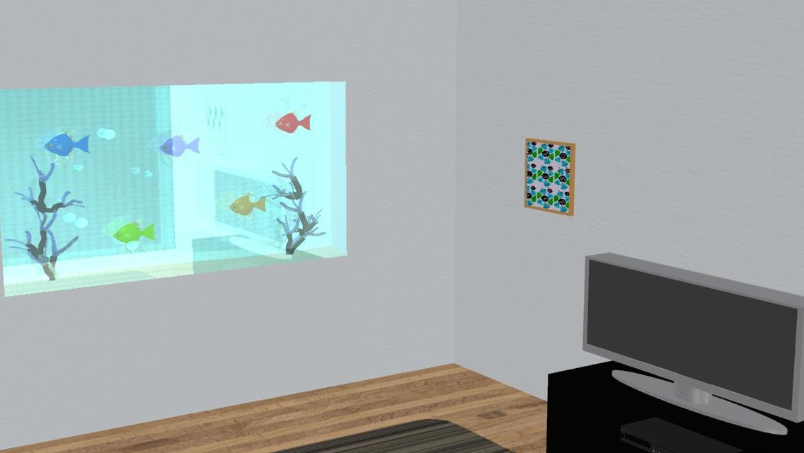 脱出ゲーム Fish roomのスクリーンショット_1