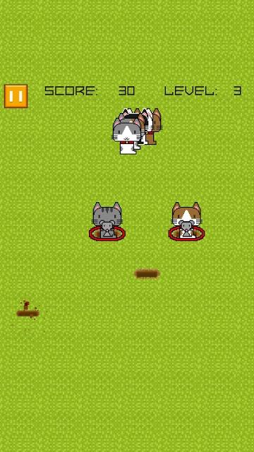 猫転送装置 - Cat Circles -のスクリーンショット_4