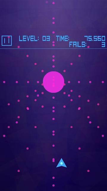 Avoid Dots 弾幕系ドットよけゲームのスクリーンショット_2