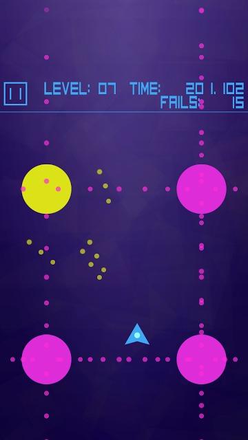 Avoid Dots 弾幕系ドットよけゲームのスクリーンショット_5