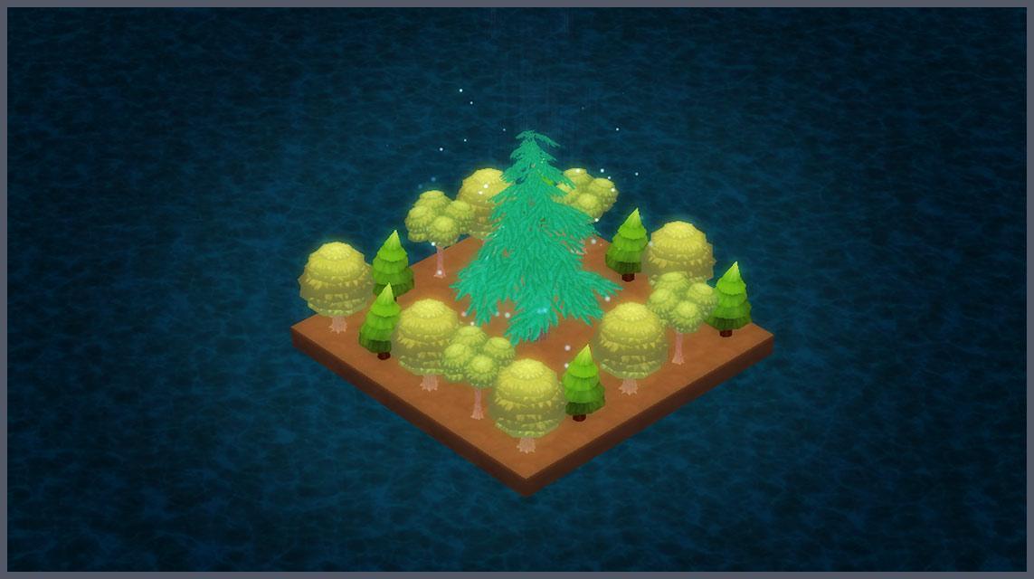 あめのことう -島の育成ゲーム-のスクリーンショット_1