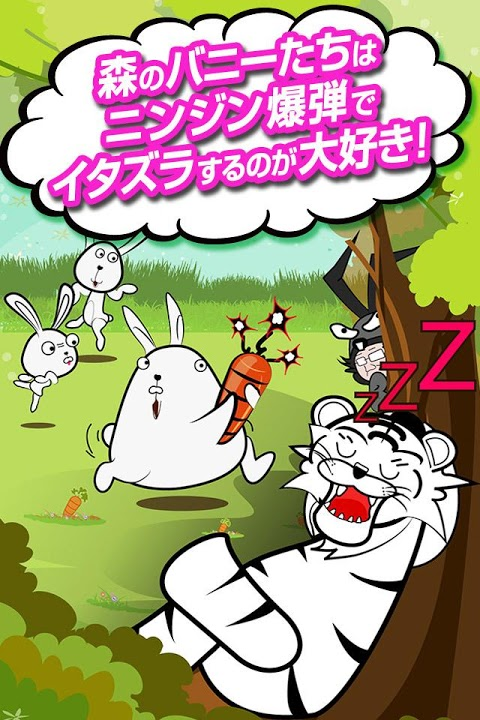 タイガーのバニーハント~クレーンゲームでウザギをキャッチ!~のスクリーンショット_2