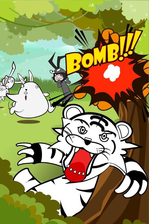 タイガーのバニーハント~クレーンゲームでウザギをキャッチ!~のスクリーンショット_3