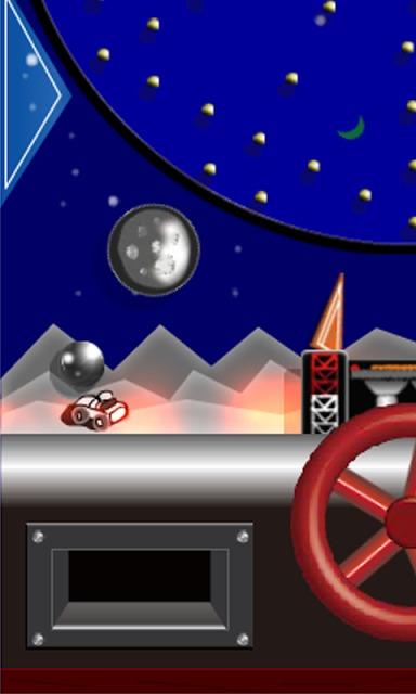 月面着陸ゲームのスクリーンショット_2
