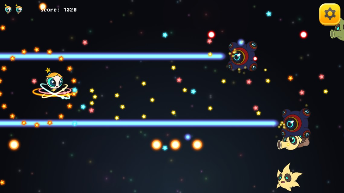 小惑星少女のスクリーンショット_4