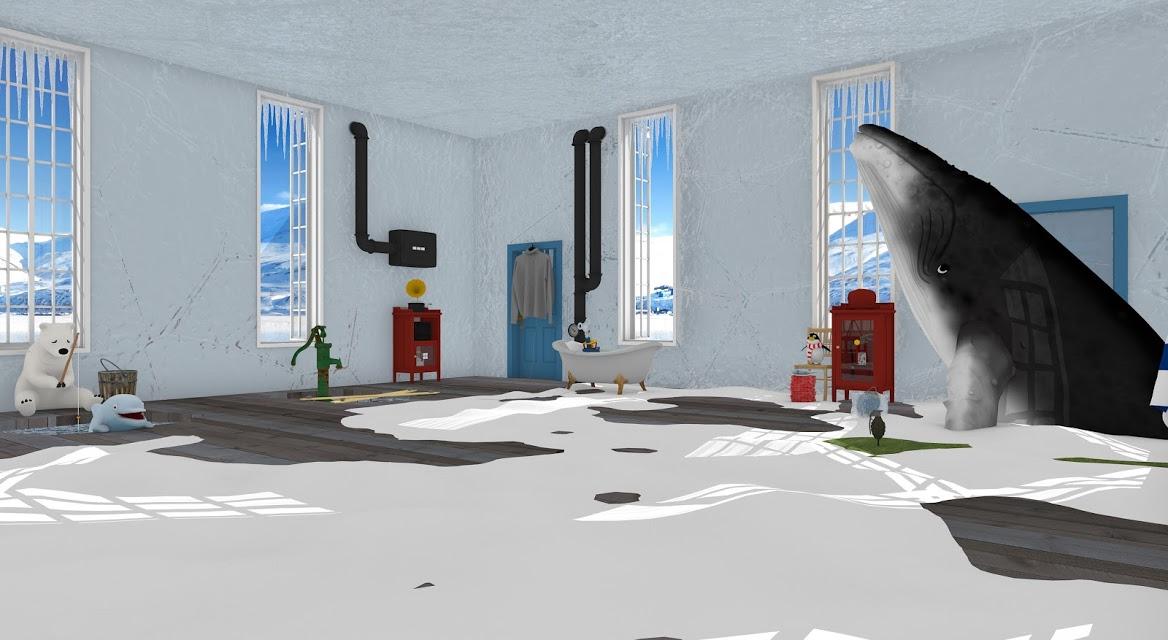 脱出ゲーム North Pole 氷の上のカチコチハウスのスクリーンショット_1