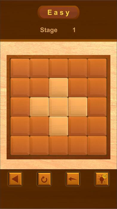Flip It  -wood puzzle-のスクリーンショット_1