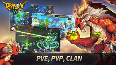 Dragon RPG: ドラゴンビレッジMのスクリーンショット_3