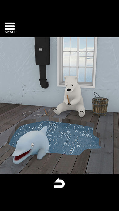 脱出ゲーム North Pole 氷の上のカチコチハウスのスクリーンショット_5