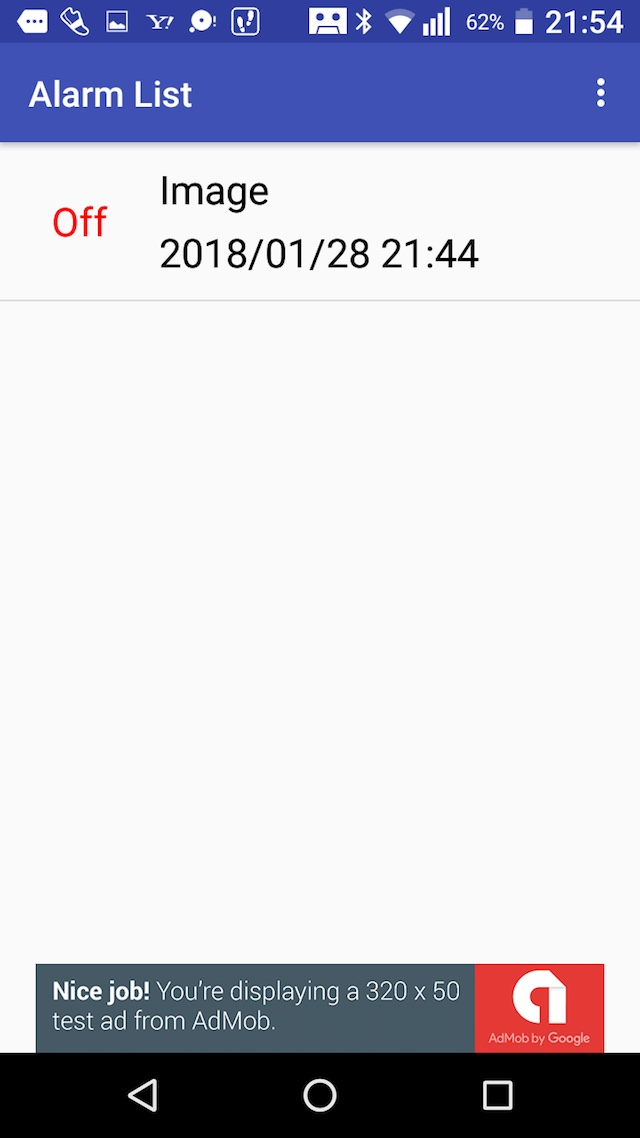 AlarmVoiceのスクリーンショット_1