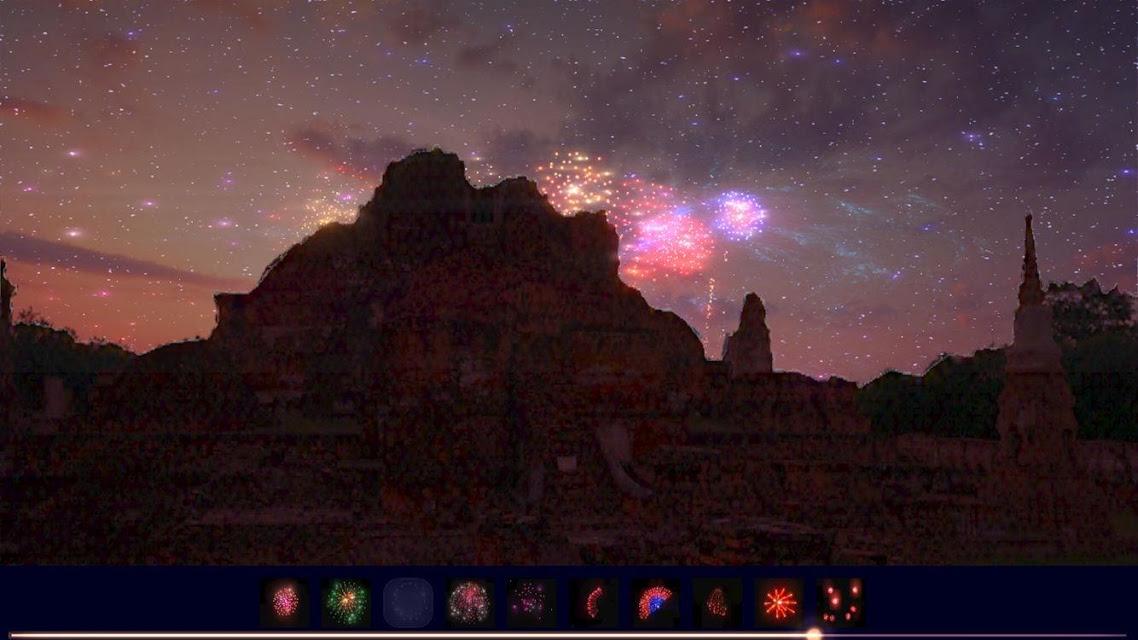 ライブ!花火ドンパチ 実在の夜景でリアル花火ライブをプレイ!のスクリーンショット_3