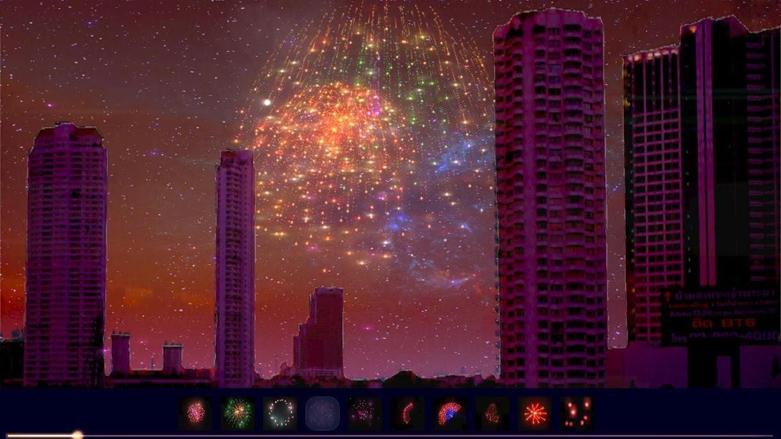 ライブ!花火ドンパチ 実在の夜景でリアル花火ライブをプレイ!のスクリーンショット_4