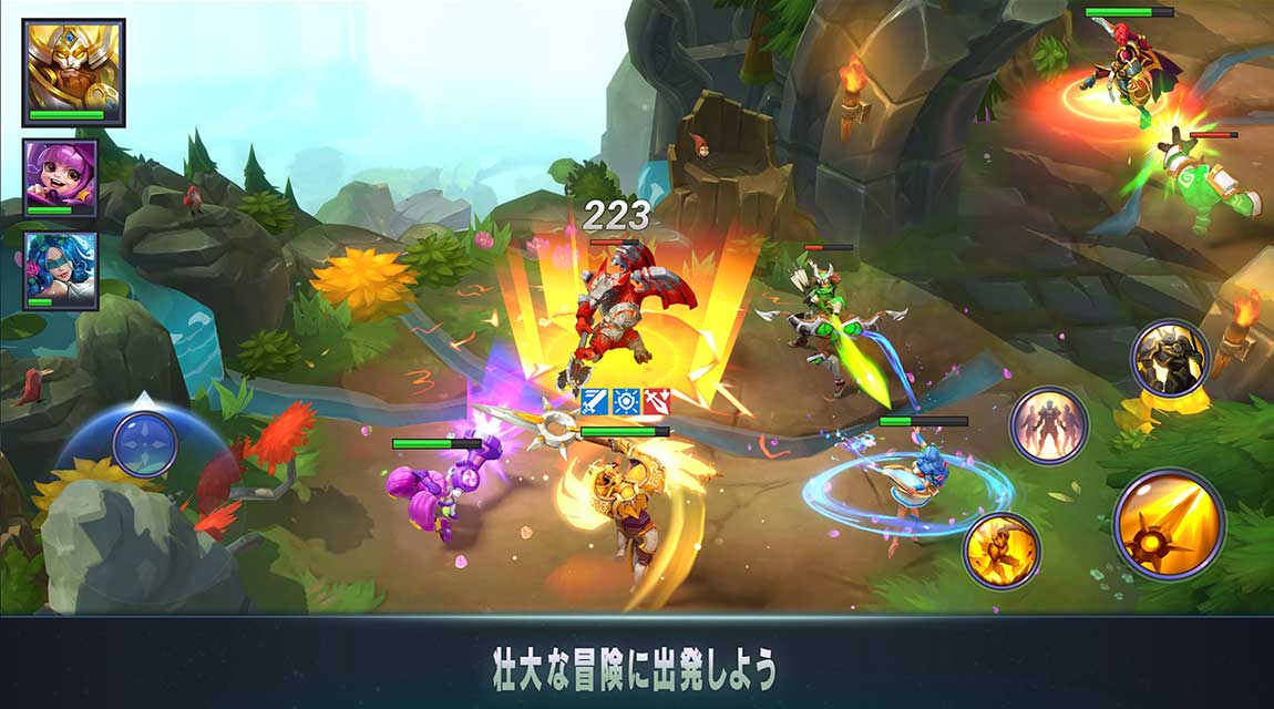 Dark Quest Championsのスクリーンショット_2