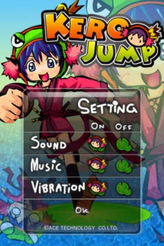 KeroJumpのスクリーンショット_2