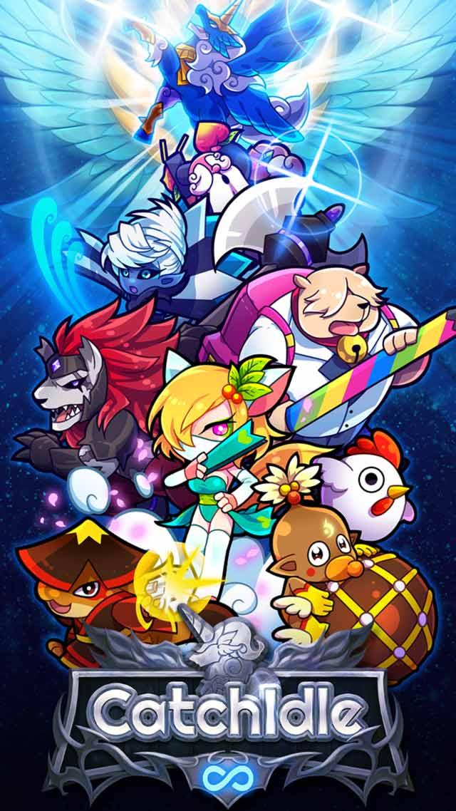 キャッチ アイドル - 2D放置育成RPGのスクリーンショット_1