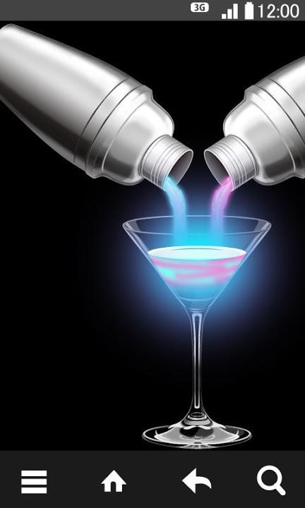 Cocktail Glass ライブ壁紙のスクリーンショット_1