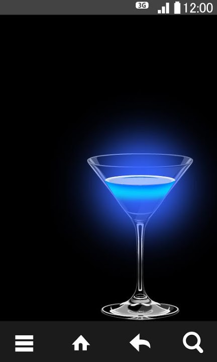 Cocktail Glass ライブ壁紙のスクリーンショット_3