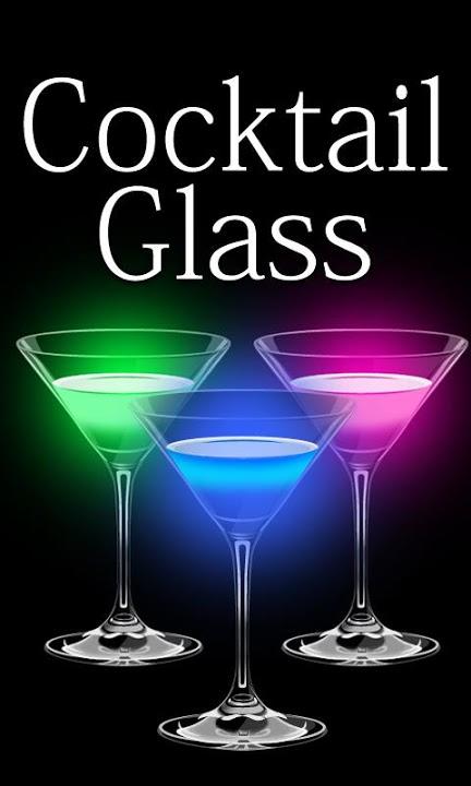 Cocktail Glass ライブ壁紙のスクリーンショット_4