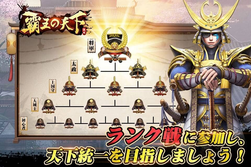 覇王の天下-戦略シミュレーションのスクリーンショット_5