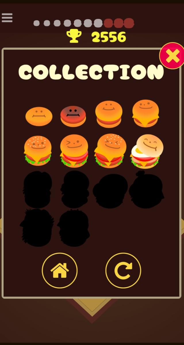 中毒パズル ハンバーガー2048のスクリーンショット_3