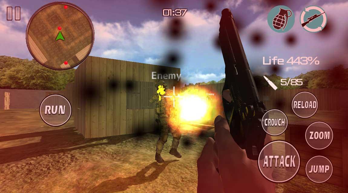 Crisis Bulletのスクリーンショット_2