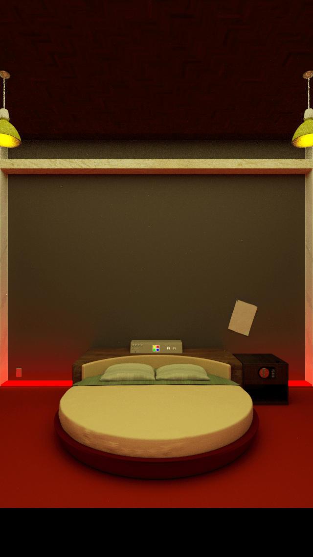 脱出ゲーム「Rolling Bed」のスクリーンショット_1