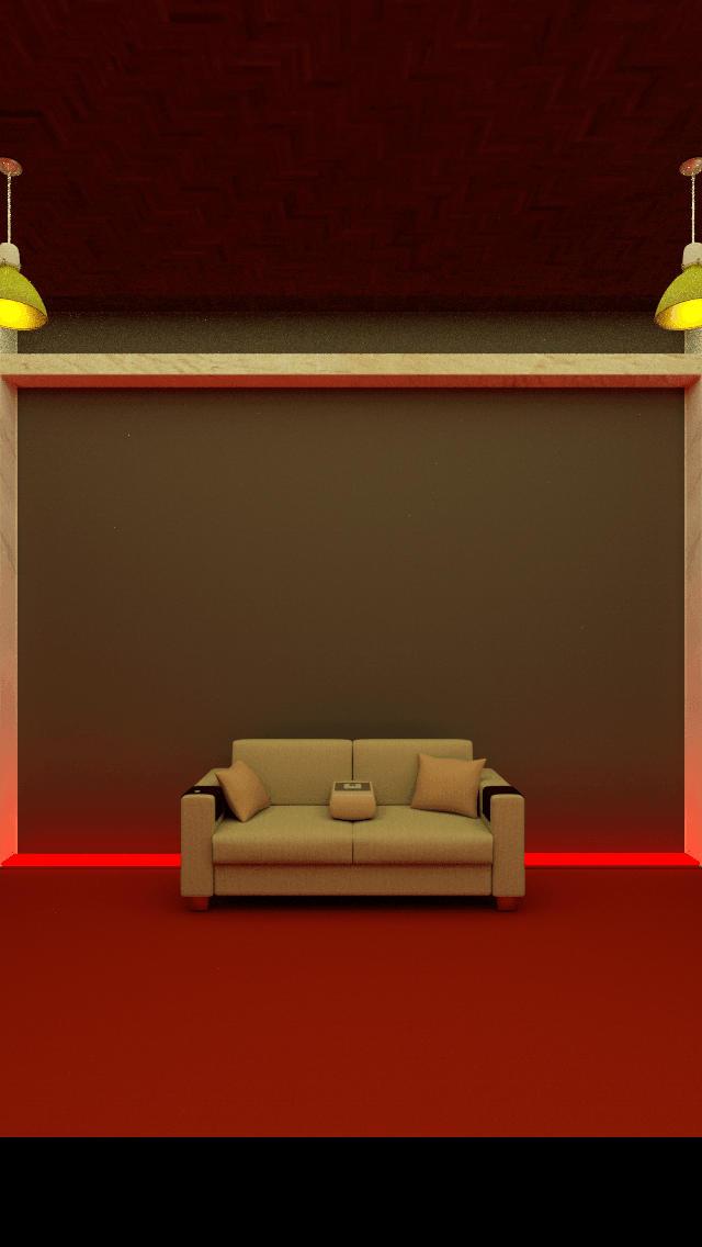 脱出ゲーム「Rolling Bed」のスクリーンショット_2