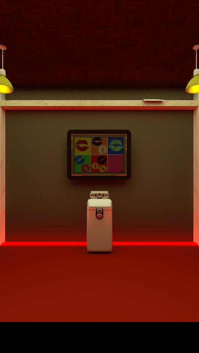 脱出ゲーム「Rolling Bed」のスクリーンショット_4