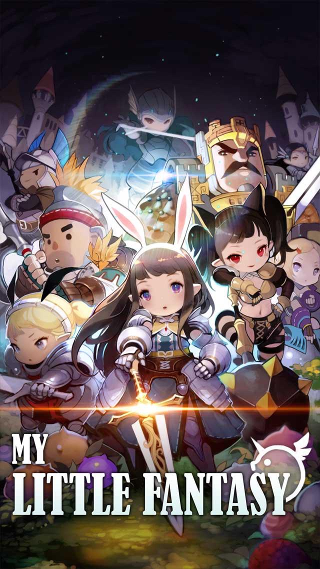 My Little Fantasy : ヒーリングRPGのスクリーンショット_1