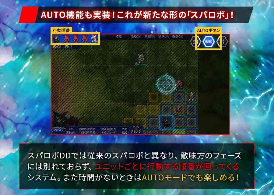 スーパーロボット大戦DDのスクリーンショット_4