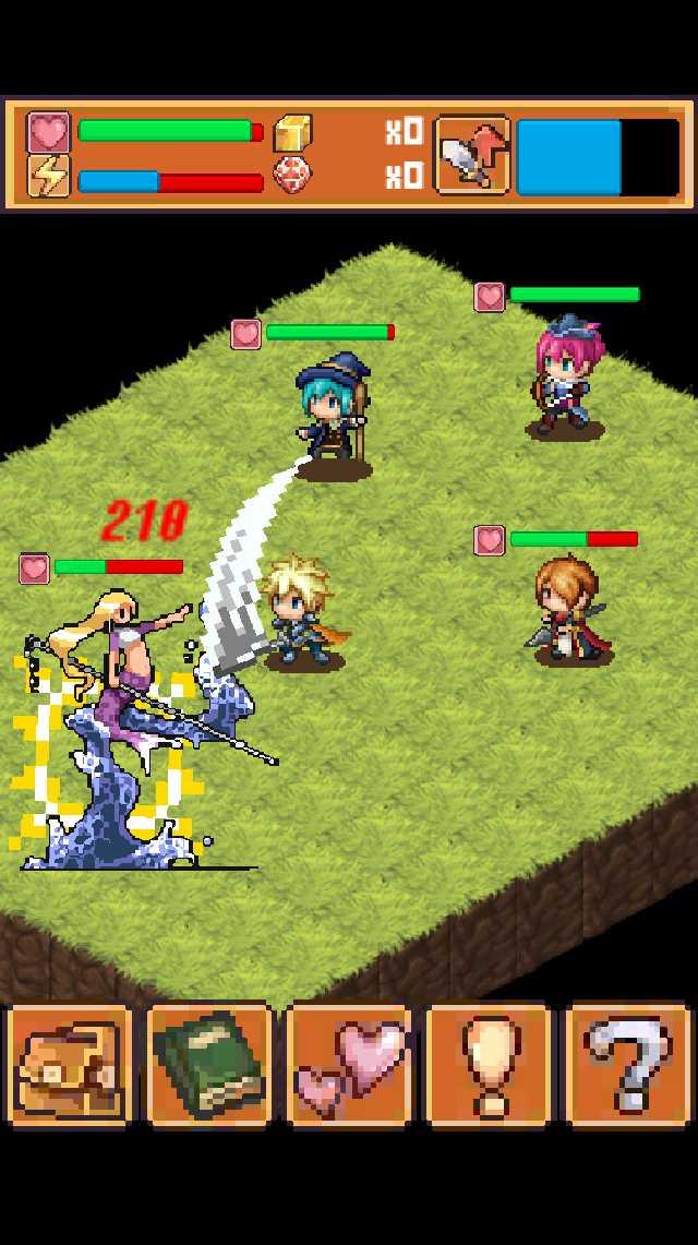 王道ワンタップRPG 「聖なる剣と魔神の塔」 のスクリーンショット_2