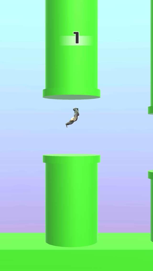 Flappy Gorillaのスクリーンショット_2