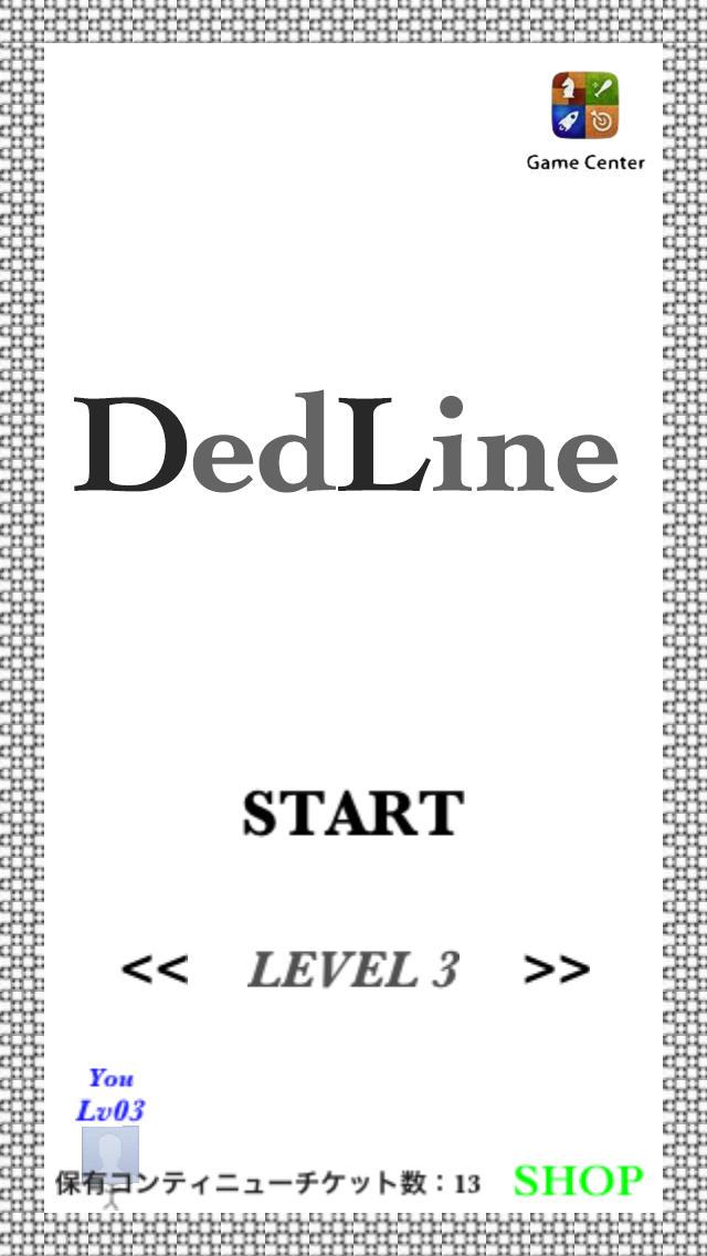 Ded LINE 無料ブロック落としパズルゲームのスクリーンショット_1