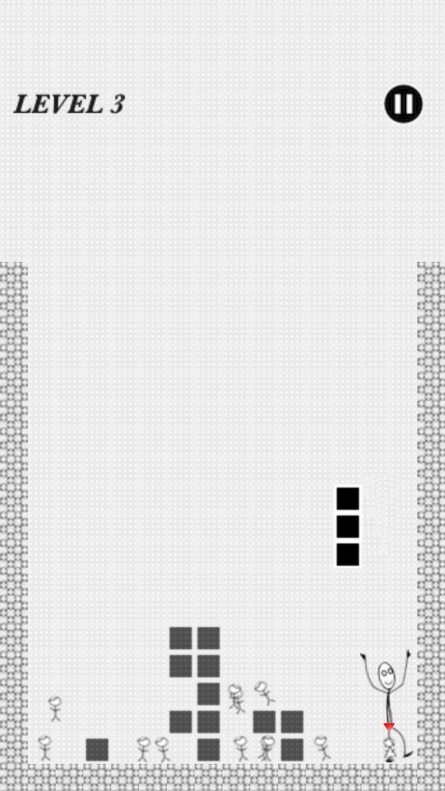 Ded LINE 無料ブロック落としパズルゲームのスクリーンショット_2