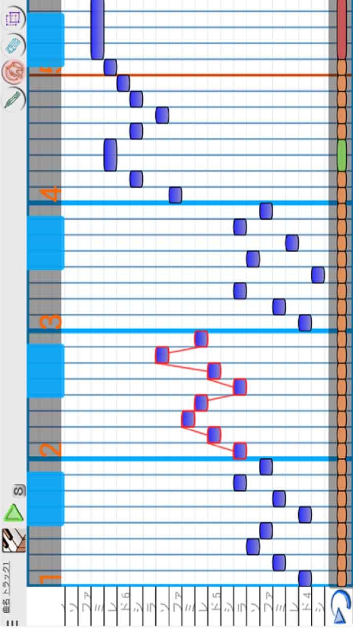 3分作曲-musicLine-のスクリーンショット_4