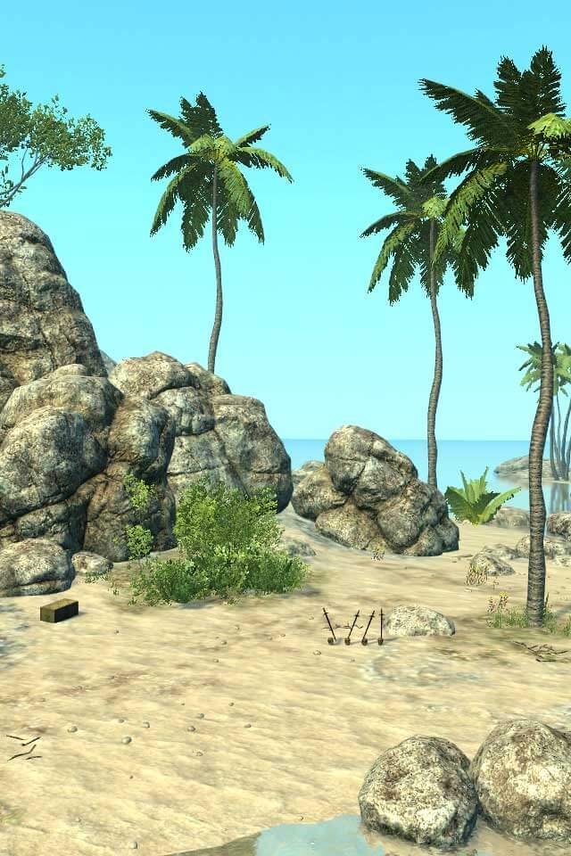 脱出ゲーム カリブの島からの脱出のスクリーンショット_3