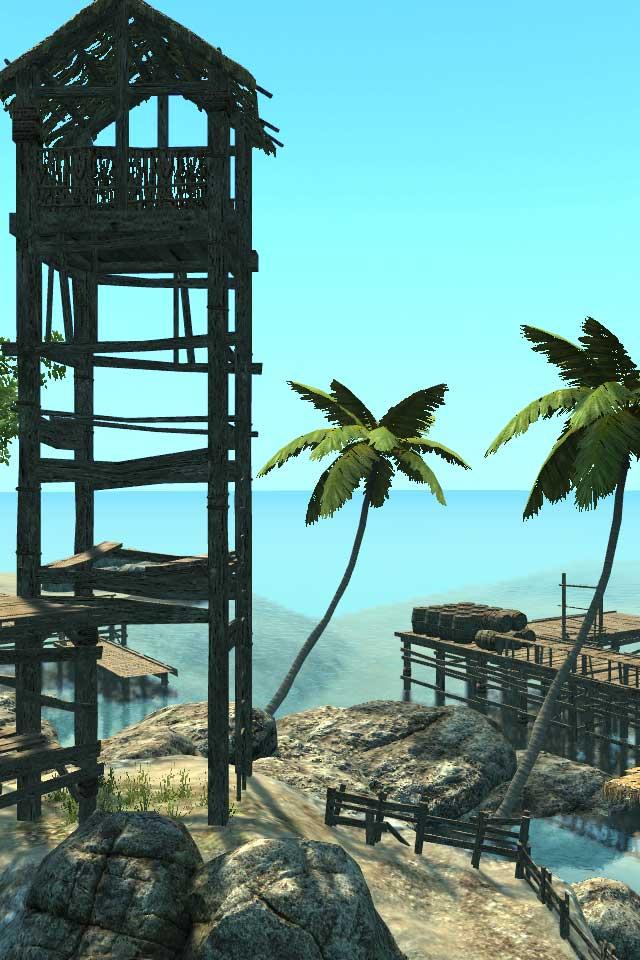 脱出ゲーム カリブの島からの脱出のスクリーンショット_4