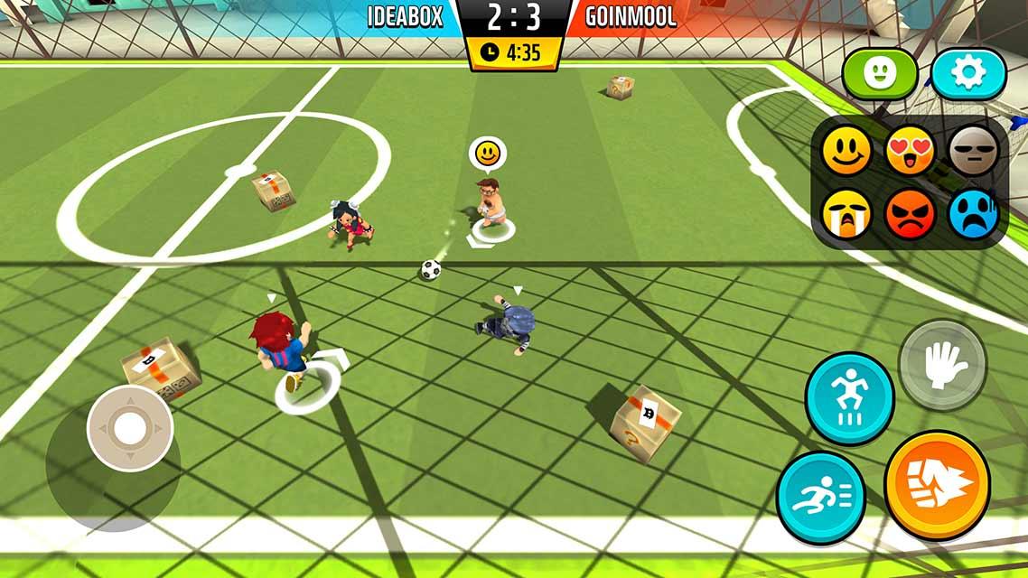 Goal.io:乱闘サッカーのスクリーンショット_2