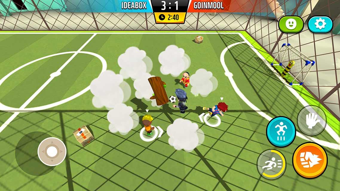 Goal.io:乱闘サッカーのスクリーンショット_3