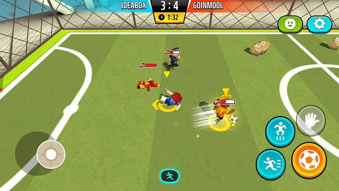 Goal.io:乱闘サッカーのスクリーンショット_4
