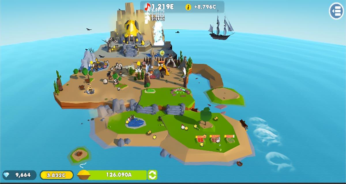 どうぶつの島 3Fのスクリーンショット_5